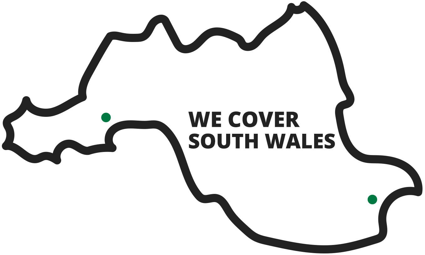 South Wales Map
